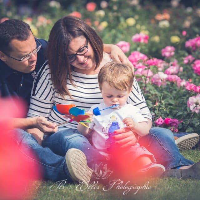 promenade en famille au Parc de la Planchette