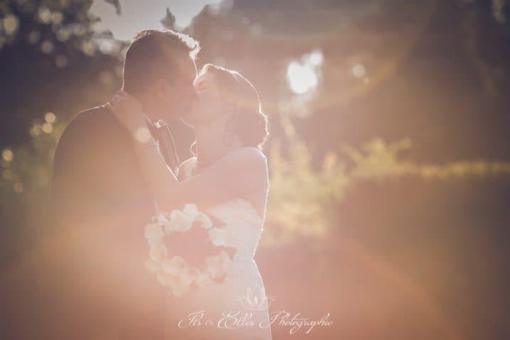 Un mariage rouge et blanc
