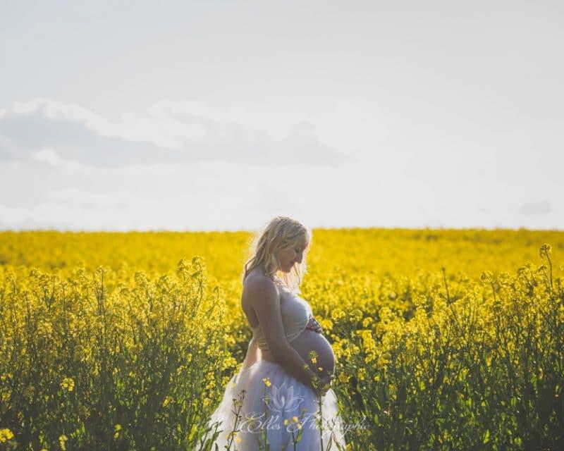 Séance photo Maternité au Miroir aux Fées