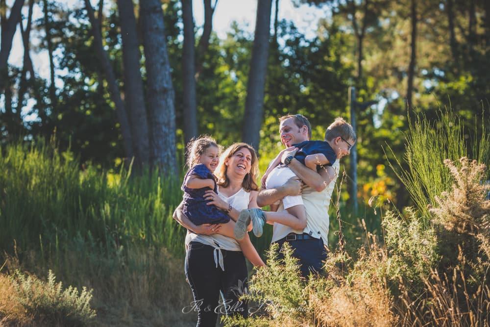 Photos de Famille au domaine de Trémelin