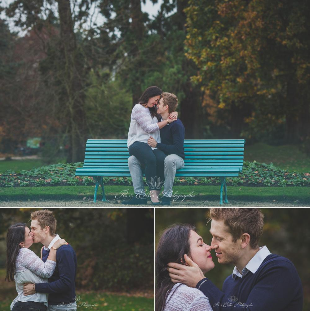 Love Session au Parc du Thabor