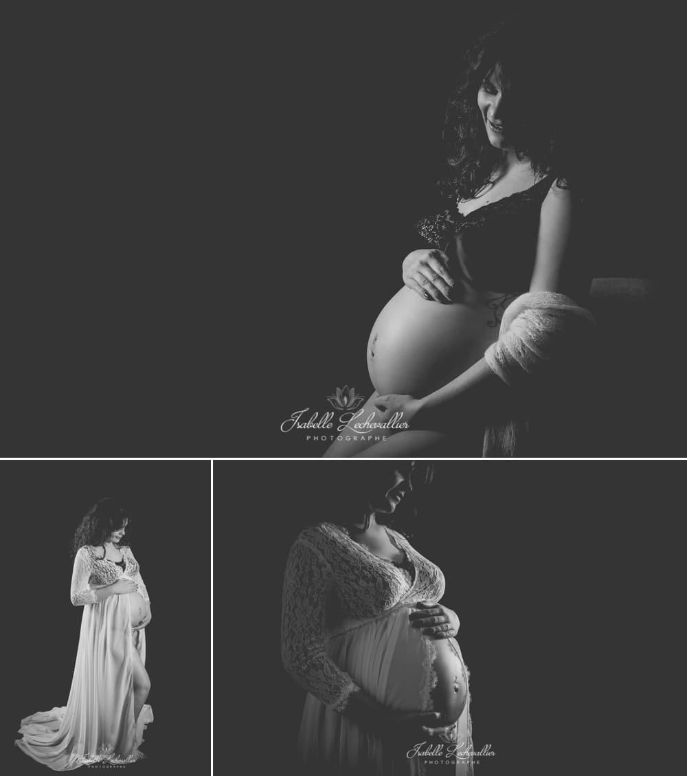 Séance grossesse au studio de Bréal