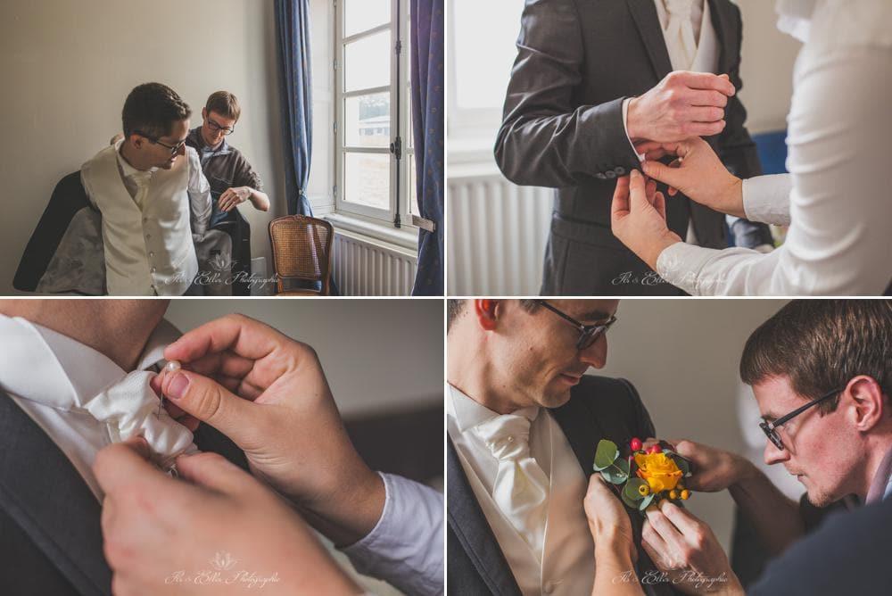 Mariage en Automne au Domaine de la Châsse