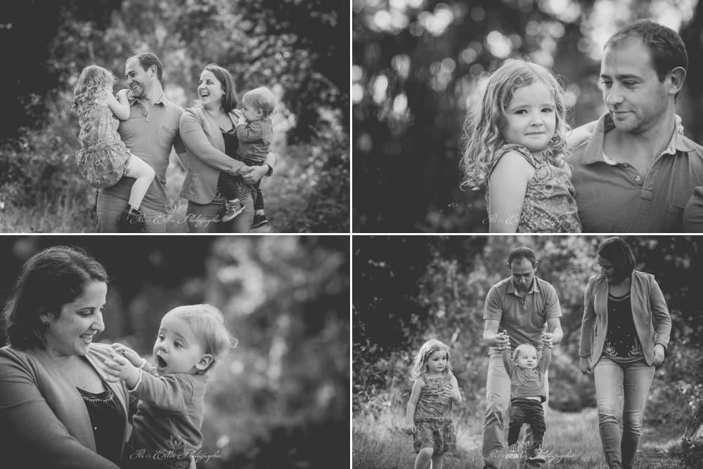 Séance photo en famille au domaine de Trémelin