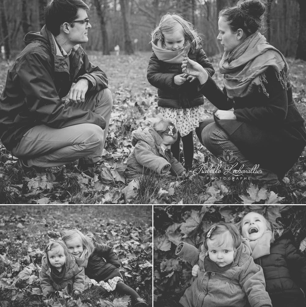 Séance Famille en Automne