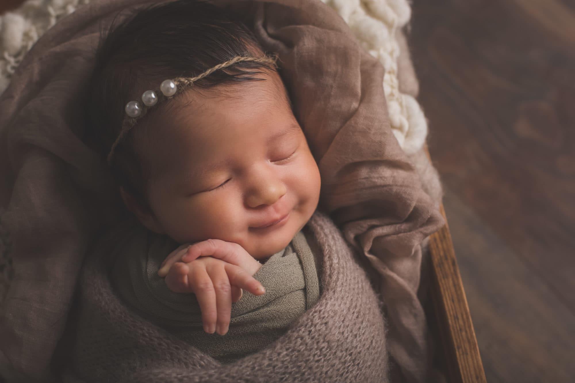 photos de bébé emmallioté