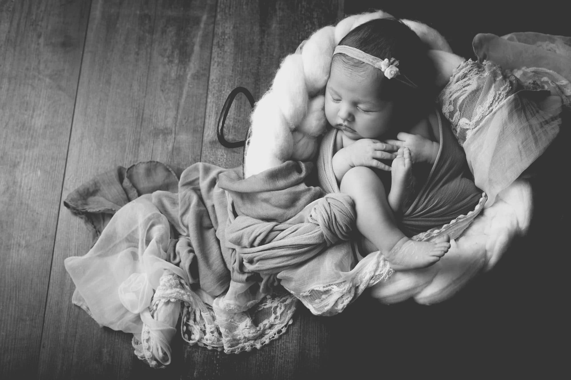 photographier son bébé à sa naissance