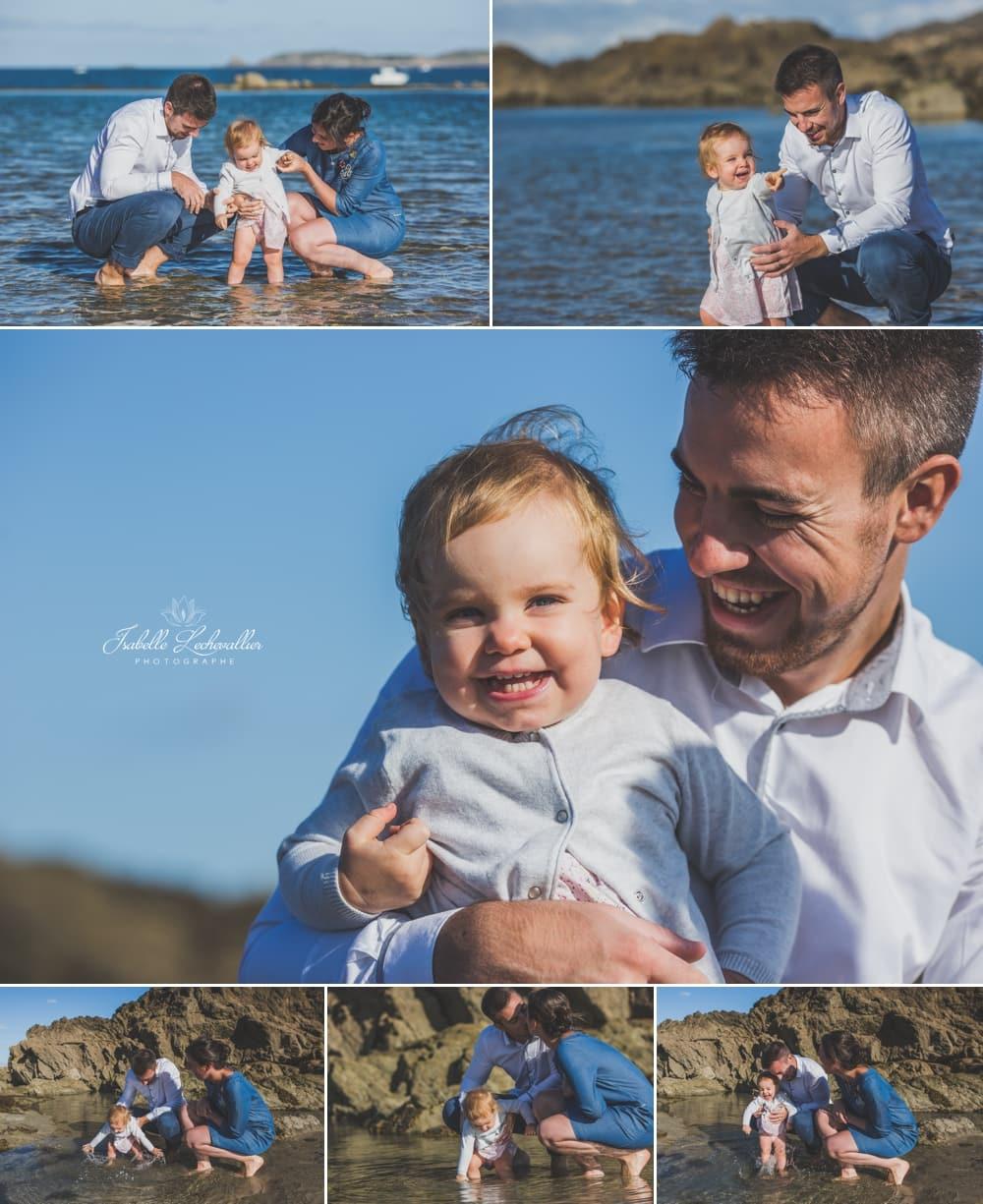 Balade photos en famille à Saint Malo