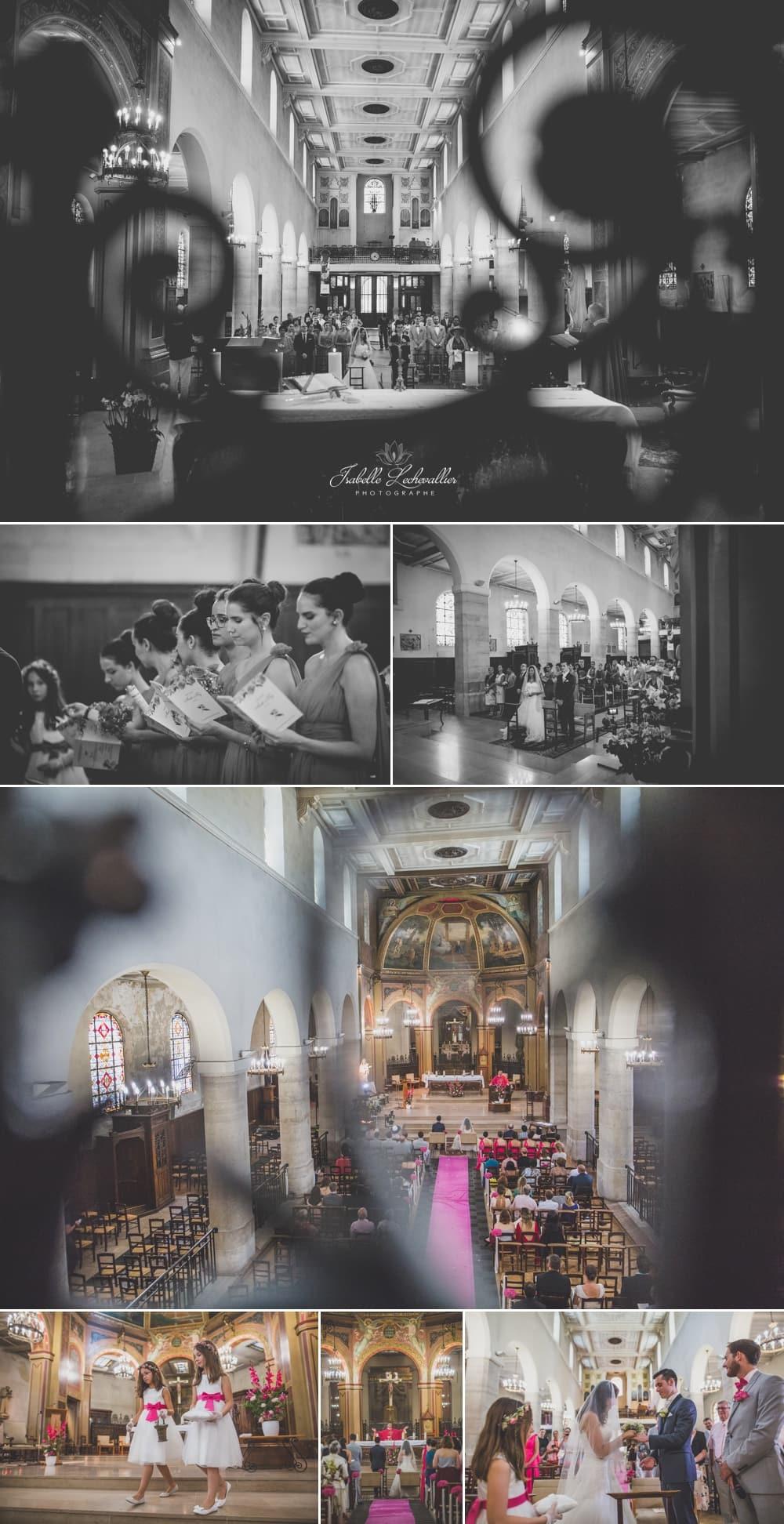 Cérémonie à l'église à Paris