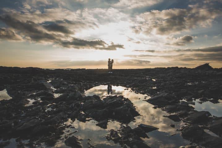 Séance photo en amoureux dans le Morbihan
