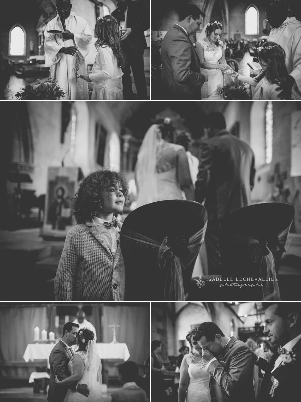 Reportage photo mariage à l'église