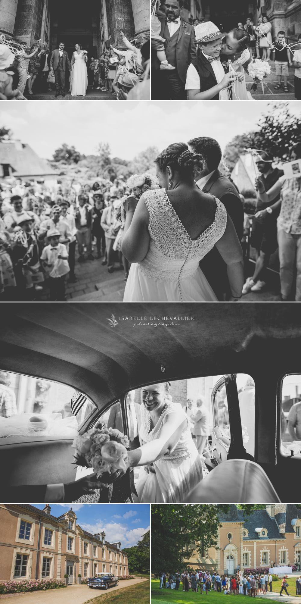 reportage photo mariage à Montfort