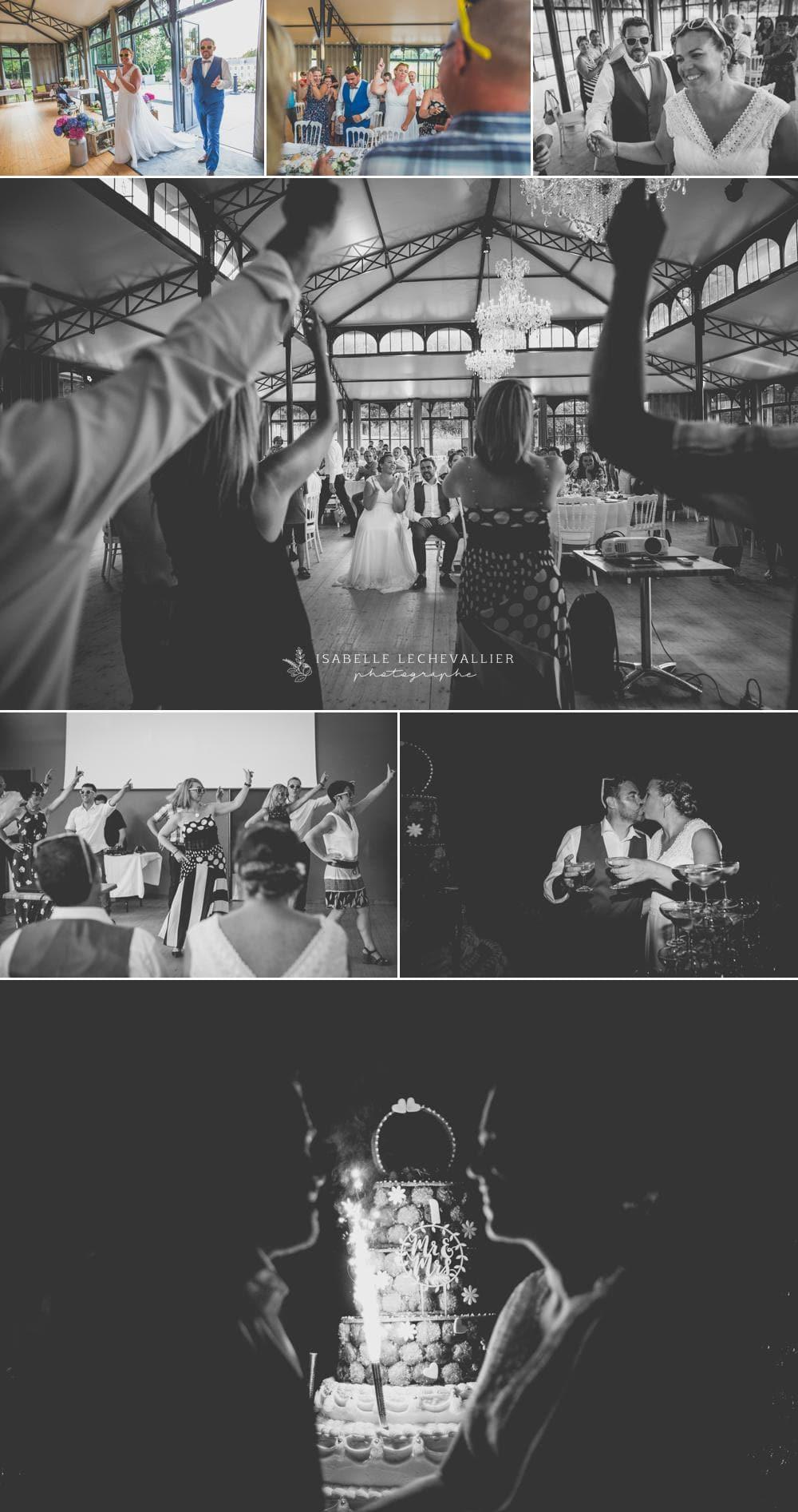 Photos de soirée de mariage