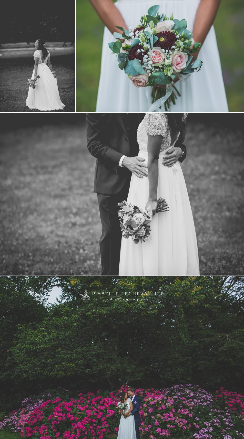Reportage photo mariage au Château d'Apigné