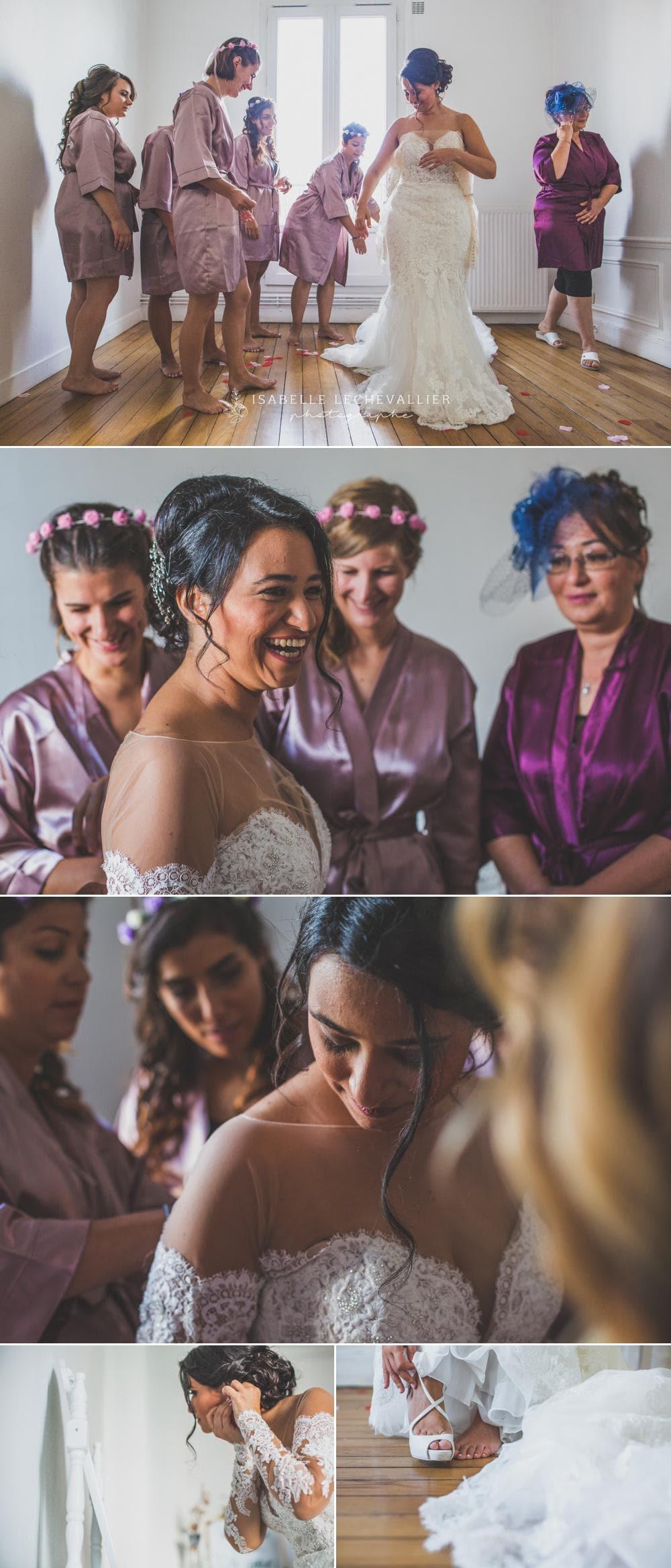 photos des préparatifs d'un mariage arménien