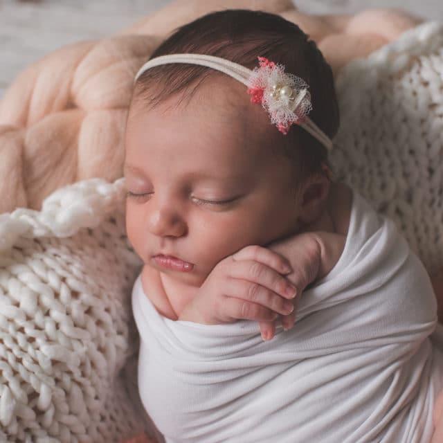 De belles photos de bébé à sa naissance