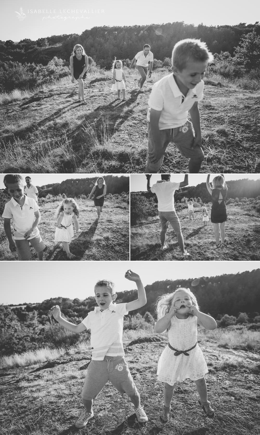 Photos de famille en Bretagne