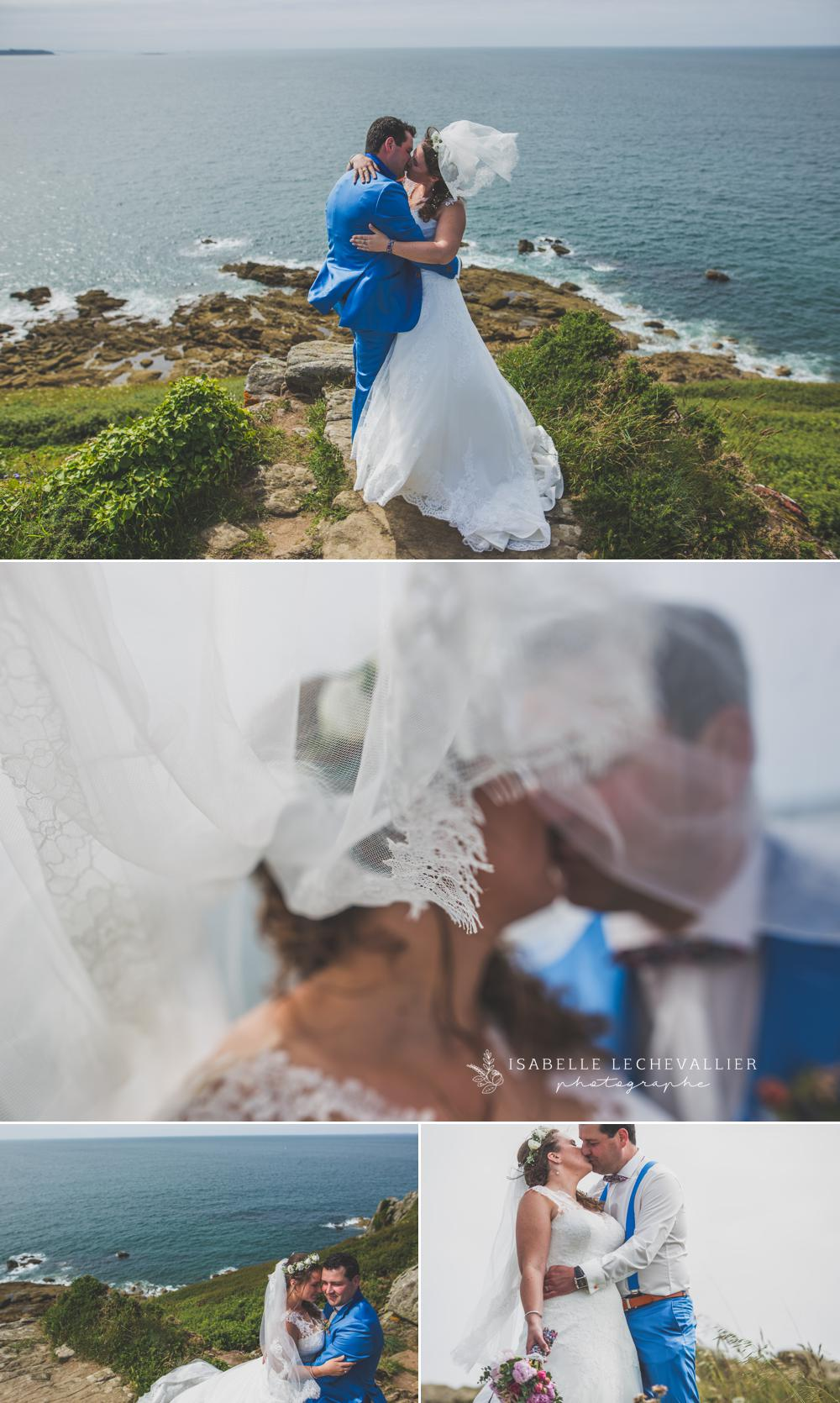 Photos après votre mariage à la Pointe du Grouin