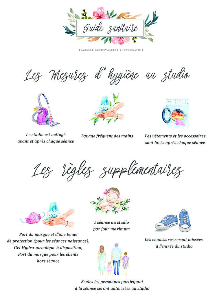 REGLES D'HYGIÈNE AU STUDIO