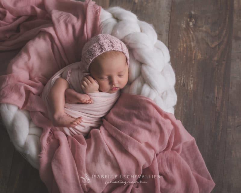 photos artistiques à la naissance de votre bébé