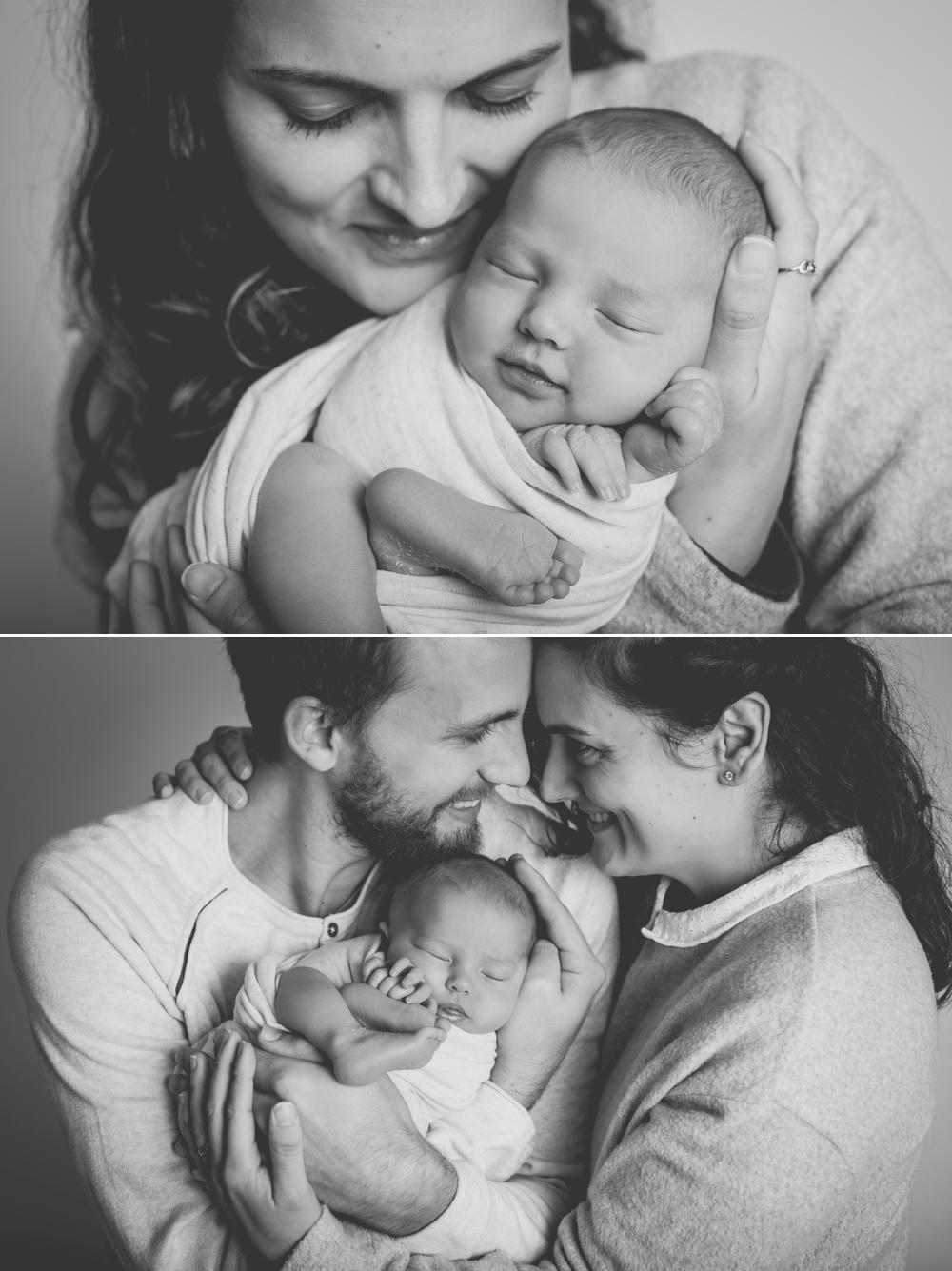 photographier votre bébé à sa naissance