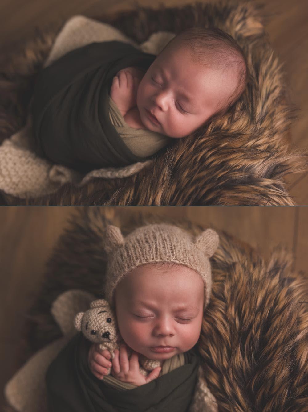 Photographier un bébé de 6 semaines