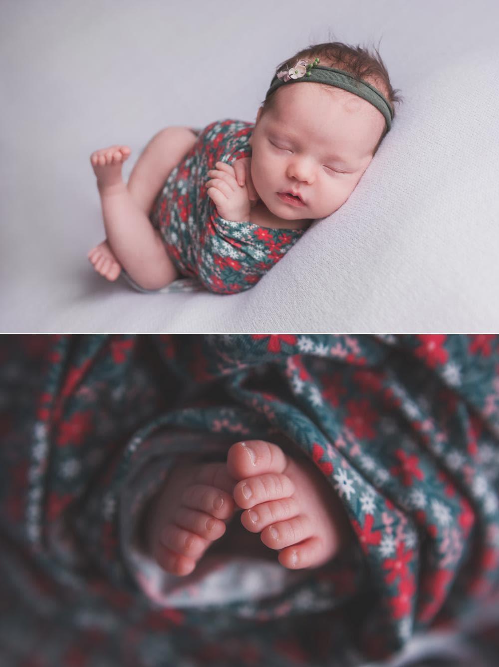 Un bébé emmailloté, c'est aussi très beau !