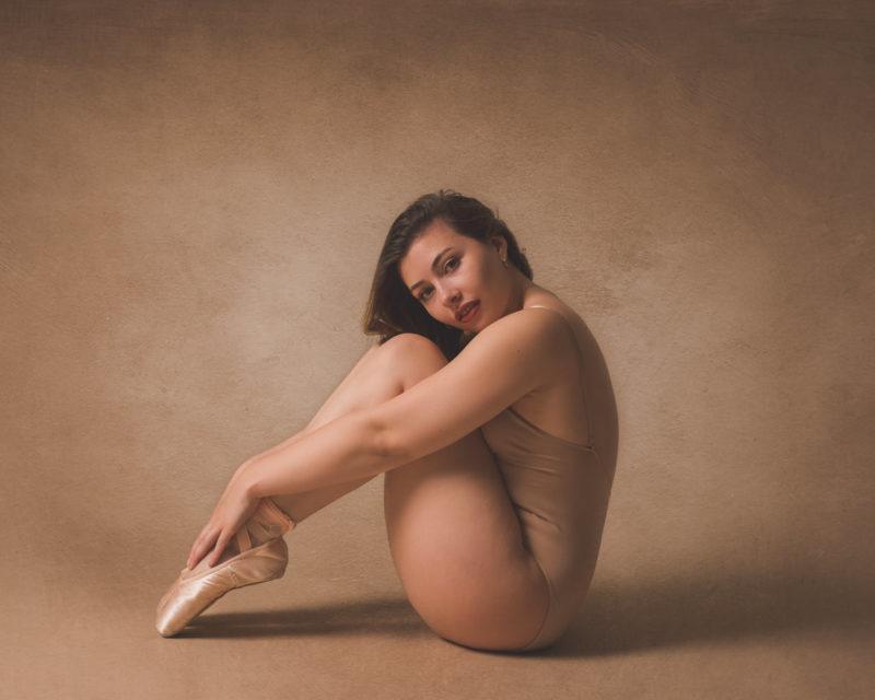 Portrait d'une danseuse